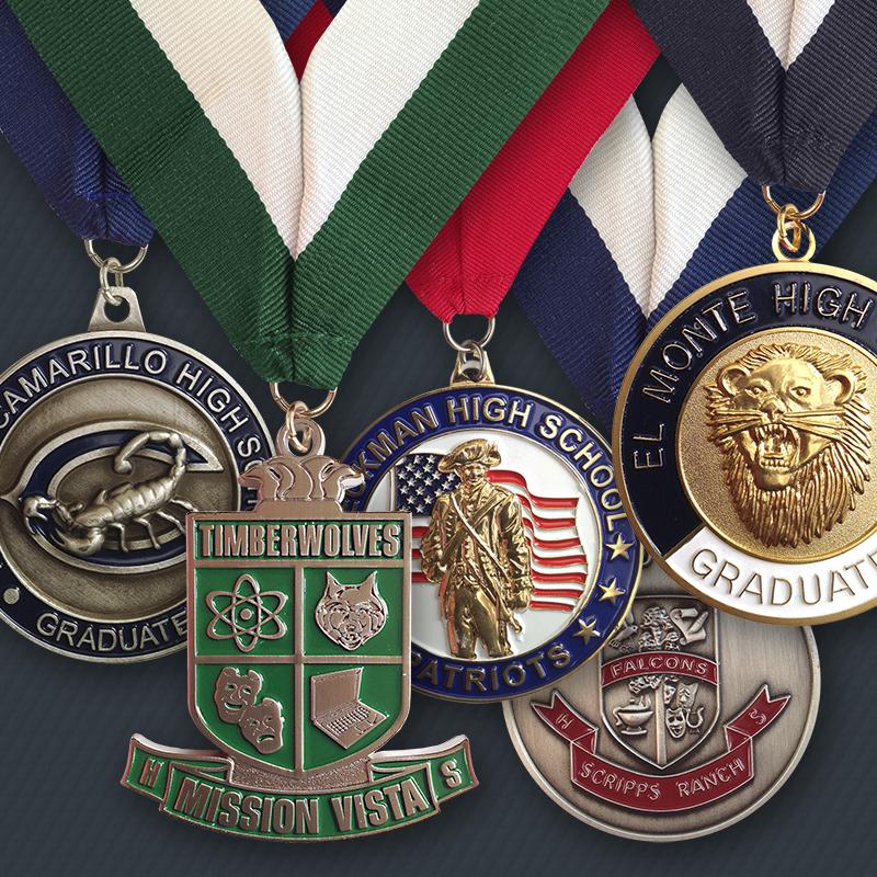 Custom Medals | pinsinc com